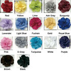 Quality hand made flower lapel pin lapel rose men's accessories 17 colors FL01