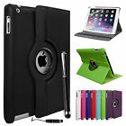 New Slim Leather 360 Degree Rotating Smart Stand Case Cover for Apple iPad Air 2