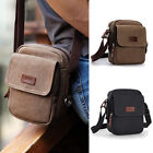 NWT Men's Retro Cotton Canvas Small Mini Crossbody bag Shoulder bag Casual