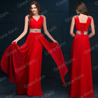 2016 Long Wedding Prom Evening Gown Ball Party Bridesmaid Wedding Formal Dresses