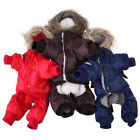 Внешний вид - Dog Pet Warm Winter Coat Jacket Thick Waterproof Puppy Hoody Clothes Outerwear