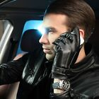 WARMEN Men's Touchscreen/Texting Nappa Leather Driving Gloves M009NC2