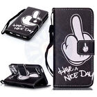 For iPod Touch 5th  6th Gen Magnetic With Strap Wallet Card Slot Flip Case Cover