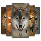HEAD CASE DESIGNS ANIMAL FACES 2 HARD BACK CASE FOR LG PHONES 3