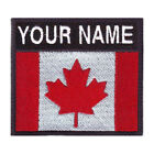 CANADA BADGE CUSTOM FLAG EMBROIDERED PATCH