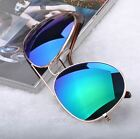 Retro Aviator Sunglasses Vintage Mirror Lens New Men/women Fashion Frame Glasses