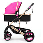 Belecoo Baby Carriage Foldable Travel Stroller Buggy Pushchairs Pram Outdoor FS