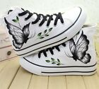 100% Pure Hand-painted Graffiti Art Children Canvas Shoes For Boys Girls Sneaker