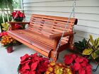 Handmade HeavyDuty Cedar Porch Swing Garden Swing Wood Swing Patio Swing Bench