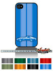 """Chevrolet Corvette 1969 Coupe """"Stripes"""" Cell Phone Case iPhone & Samsung Galaxy"""
