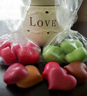 Bulk Sale Lot Wax Tarts Large Hearts Chunks Candle Soy Paraffin Home Fragrance