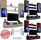 TV Stand LED Entertainment Center Wall Unit Media Modern Living Room Furniture