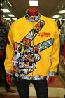 Men's Yellow PEACE Track Jacket by PARISH