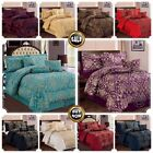 Luxury 7Piece Jacquard Bedspread comforterset,with Matching Pillow&Cushion Cover