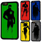 Justice League Superhero Rubber Phone Case Cover For iPhone 5/5s 6/6s 7 8 X Plus