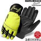 Winter Bike Gloves Cycling, Cold Weather Mountain Bicycle Water Proof Thisulate