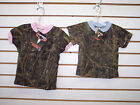 Infant & Boys/Girls True Timber & Mossy Oak Camo T-Shirts Sizes 0/6M - 6/7