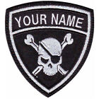 PIRATES CUSTOM CREST (C) FLAG EMBROIDERED PATCH