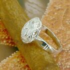 STERLING SILVER CLOVER RING SOLID .925 /NEW SIZE 5-12 JEWELRY