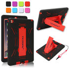 Heavy Duty Silicone Tablet Cover for Apple iPad Kids Shockproof Protective Case