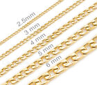 mens womens kids 14k gold plated stainless