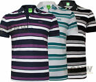 HUGO BOSS MEN'S GR PICARD STRIPE POLO SHIRT/ T SHIRT S,M,L,XL,XXL NEW Was £85.00