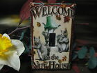 Welcome to the Nut House Light Switch Wall Plate Cover #1 - Variations