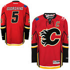 Mark GIORDANO Calgary FLAMES Reebok Premier Officially Licensed NHL Jersey sz S