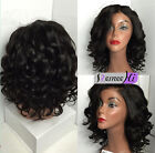 Queen body wavy Brizilian remy human hair full/front lace wig natural hairline