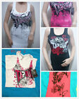 NWT Tapout Womens Graphic Dress Tank Top Tunic