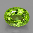 Natural Genuine Peridot AAA Oval Faceted Loose Stones (4x3mm - 12x10mm)