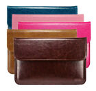 """Laptop Genuine Leather Sleeve Case Notebook Bag Cover for MacBook Air 11"""" 13"""""""
