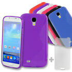S-Line Wave Soft Gel TPU Silicone Back Cover Case for Samsung Galaxy S4 i9500