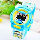 Minions Cartoon Children 3D Digital Wrist Watch