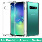 For Samsung Galaxy S7 S8 S8+ J3 A3 A5 A6 Soft TPU Clear Gel Slim Back Case Cover