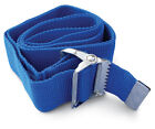 Medline Washable Cotton Transfer Gait Belt with Buckle, 1 Each - MDT821203* <br/> Available in Multiple Lengths and Colors