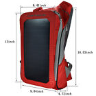 6.5W Solar Charger Backpack for Cell Phones, Tablets,Laptop,GPS, Digital Cameras