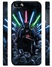 Star Wars Darth Vader Iron Throne Iphone 4 4s 5 5s 5c 6 6S 7 8 X Plus Case Cover $14.99 USD