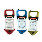 AM1 BEIAN-LOCK Tagout Safety Lock Snap-On Aluminum 10 Hole Hasp Lockouts