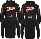 King Or Queen Matching Backwoods Pull Over Valentines Christmas Love HOOD -S-4XL