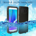 Waterproof Shockproof Dirt Snow Red pepper Case Cover for Samsung Galaxy Note5