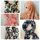 Fashion Women Lady Wrap Shawl  Scarf Soft Long Butterfly Print /NECK SCARF