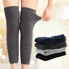 Внешний вид - Womens Mens Warm Cashmere Wool Knee Warmers Leg Thigh High Socks Pad Legging