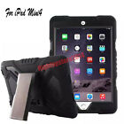 Pepkoo Defender Military Heavy Duty Spider Stand Armor Case For Apple iPad Min 4