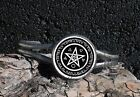 Wicca Pentagram Pentacle Spirit Earth Fire Air Water Image Bracelet