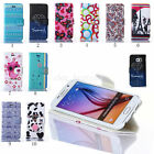 New For Samsung Galaxy Flip Stand PU Leather Wallet Phone Case Cover Patterned