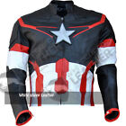 Avengers 2 Age of ultron captain america costume replica leather jacket 2015