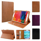 "Premium Smart Genuine Leather Case Cover For Samsung Galaxy Tab S2 8.0"" T715 NEW"