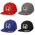 Honda Snapback Black Red Blue Gray Snapback Cap Hat Vtec Civic Accord Prelude 3D