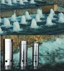 """1""""1.5""""2""""Stainless Steel Spring Bubbling Style Fountain Nozzle Spray Head Pond"""